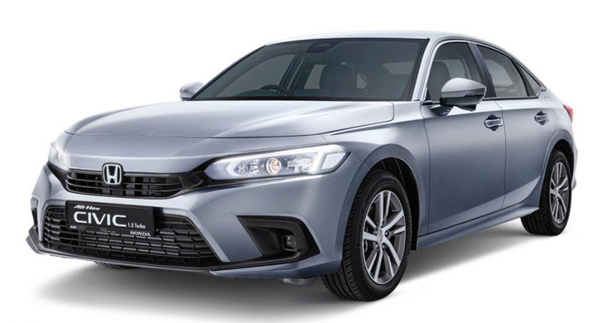 Honda Civic 2022 dilancarkan di Singapura — 1.5L VTEC Turbo, 129 PS, Honda Sensing, dari RM384k Image #1330232