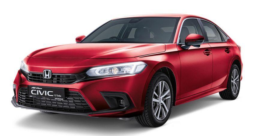 Honda Civic 2022 dilancarkan di Singapura — 1.5L VTEC Turbo, 129 PS, Honda Sensing, dari RM384k Image #1330233