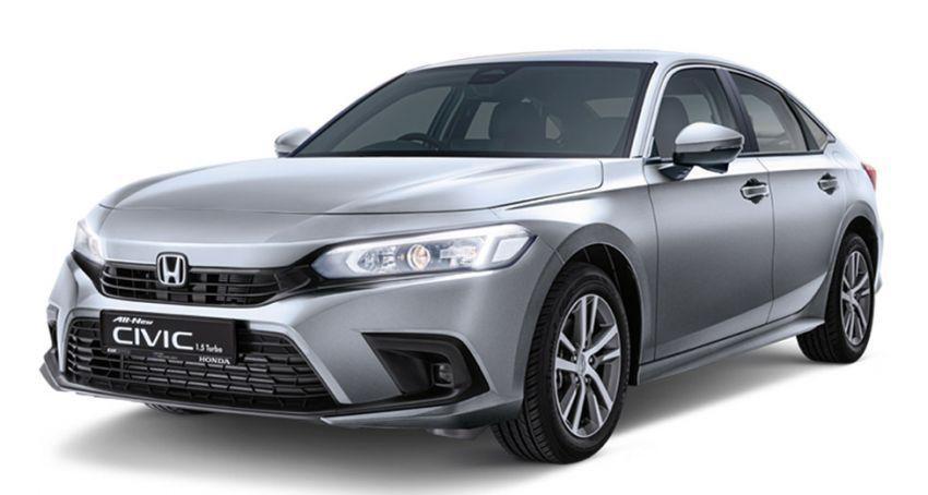 Honda Civic 2022 dilancarkan di Singapura — 1.5L VTEC Turbo, 129 PS, Honda Sensing, dari RM384k Image #1330234