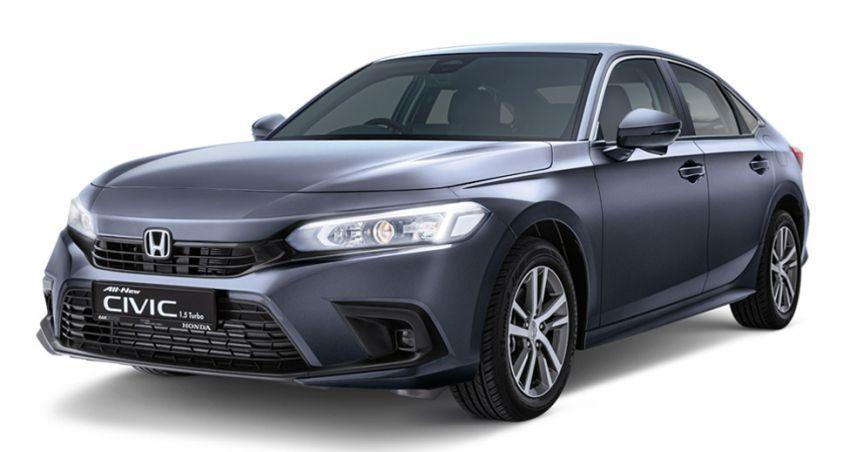 Honda Civic 2022 dilancarkan di Singapura — 1.5L VTEC Turbo, 129 PS, Honda Sensing, dari RM384k Image #1330235