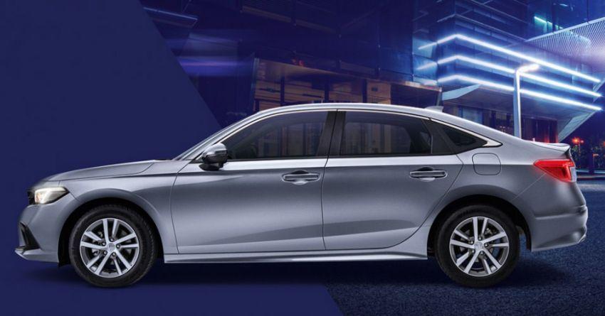 Honda Civic 2022 dilancarkan di Singapura — 1.5L VTEC Turbo, 129 PS, Honda Sensing, dari RM384k Image #1330223