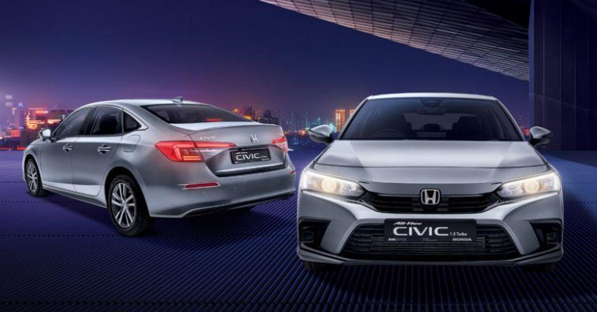 Honda Civic 2022 dilancarkan di Singapura — 1.5L VTEC Turbo, 129 PS, Honda Sensing, dari RM384k Image #1330224