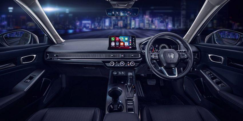 Honda Civic 2022 dilancarkan di Singapura — 1.5L VTEC Turbo, 129 PS, Honda Sensing, dari RM384k Image #1330228