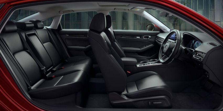 Honda Civic 2022 dilancarkan di Singapura — 1.5L VTEC Turbo, 129 PS, Honda Sensing, dari RM384k Image #1330229