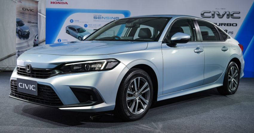 2022 Honda Civic – live photos direct from Thailand Image #1334938