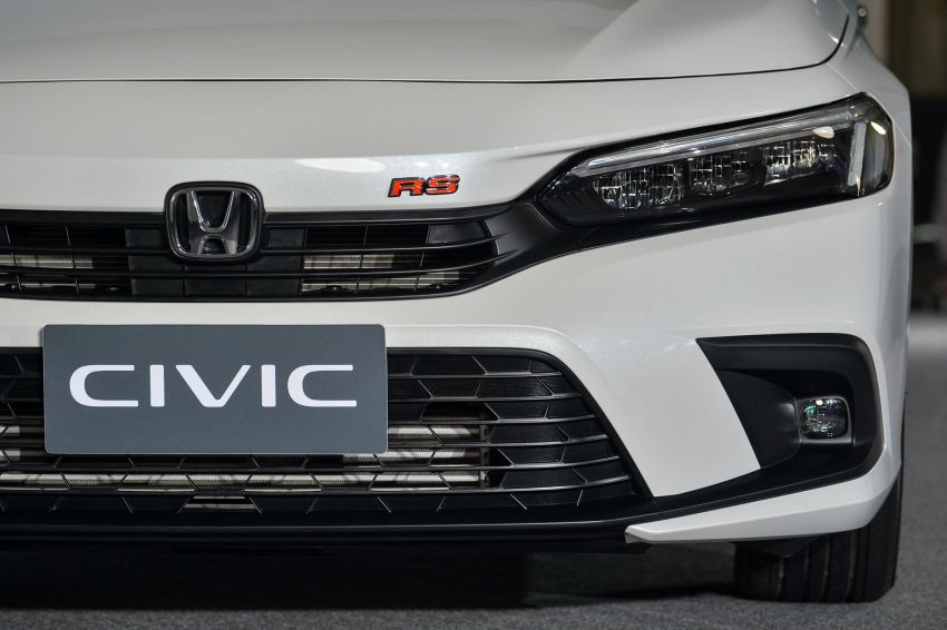 2022 Honda Civic – live photos direct from Thailand Image #1334952