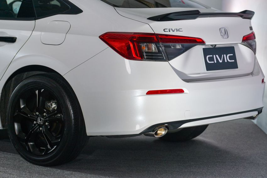 2022 Honda Civic – live photos direct from Thailand Image #1334957