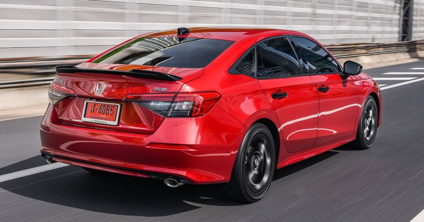 2022 Honda Civic – live photos direct from Thailand Image #1334934