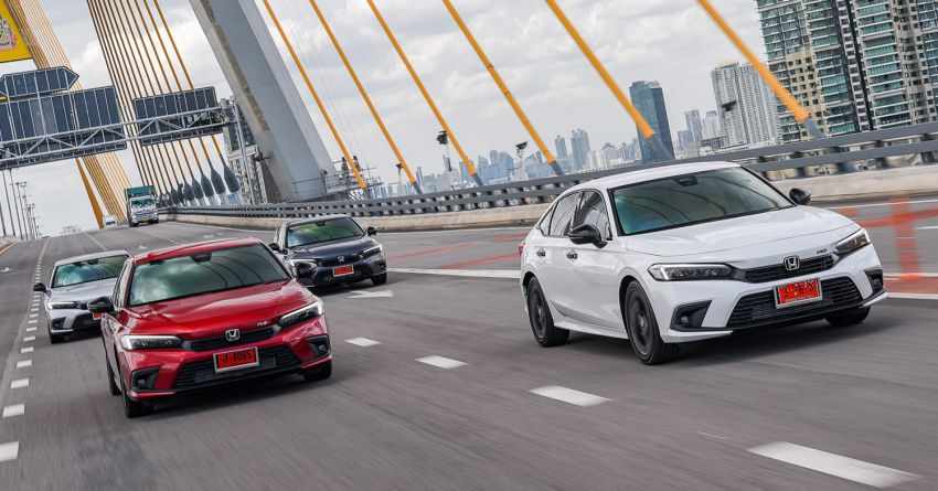 2022 Honda Civic – live photos direct from Thailand Image #1334935