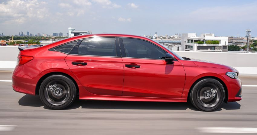 2022 Honda Civic – live photos direct from Thailand Image #1334936