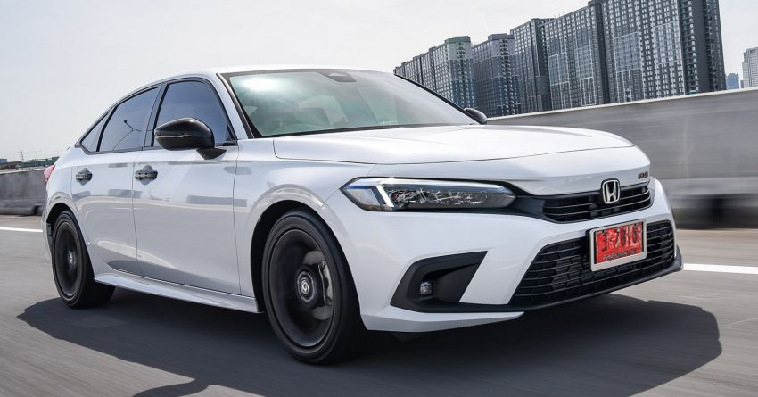 2022 Honda Civic – live photos direct from Thailand Image #1334937