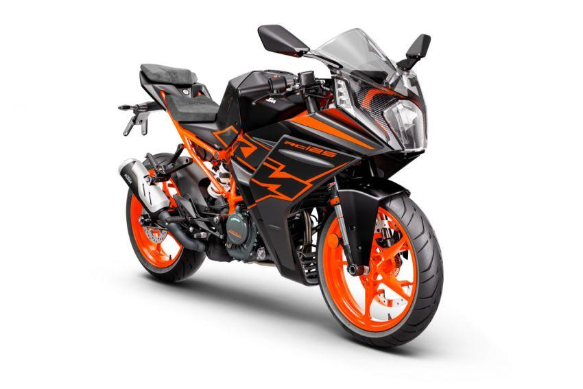 2022 KTM RC390 and RC125 sports bikes return Image #1338025