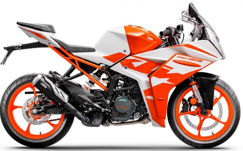 2022 KTM RC390 and RC125 sports bikes return Image #1338028
