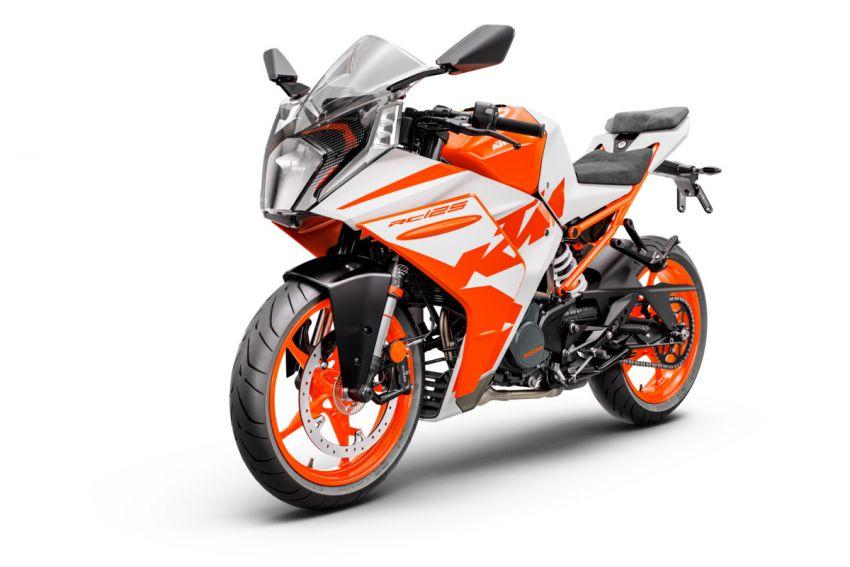 2022 KTM RC390 and RC125 sports bikes return Image #1338029
