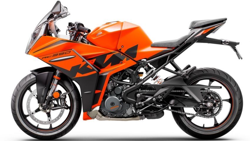 2022 KTM RC390 and RC125 sports bikes return Image #1338019