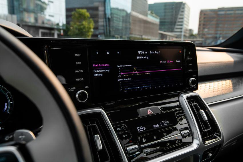 2022 Kia Sorento PHEV joins US range – 1.6T plug-in hybrid,  13.8 kWh battery, 51 km pure electric range Image #1332664