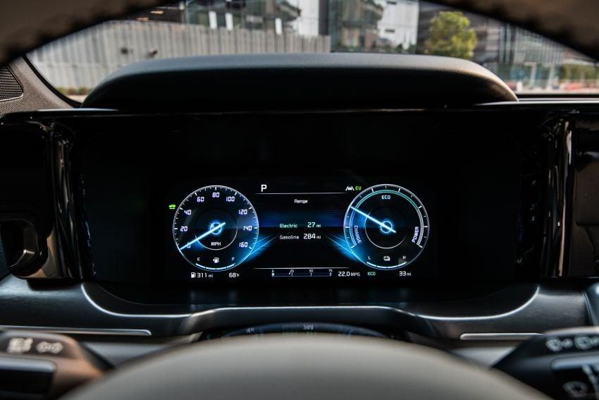 2022 Kia Sorento PHEV joins US range – 1.6T plug-in hybrid,  13.8 kWh battery, 51 km pure electric range Image #1332667