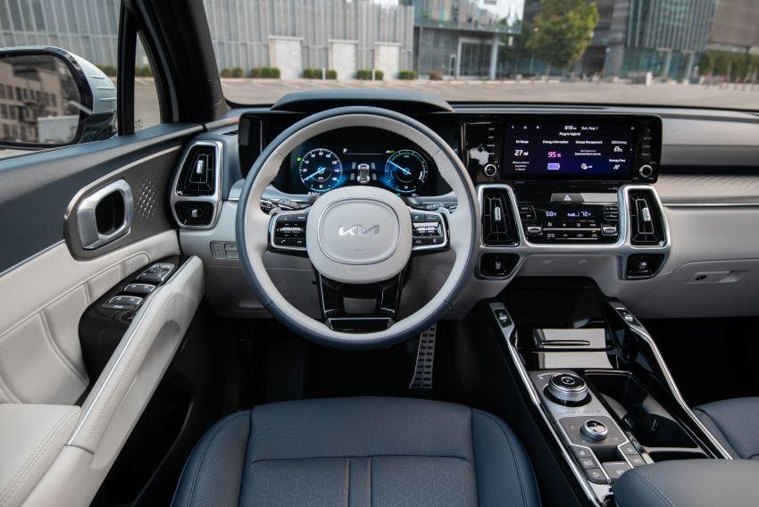 2022 Kia Sorento PHEV joins US range – 1.6T plug-in hybrid,  13.8 kWh battery, 51 km pure electric range Image #1332668