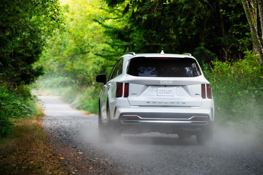 2022 Kia Sorento PHEV joins US range – 1.6T plug-in hybrid,  13.8 kWh battery, 51 km pure electric range Image #1332673