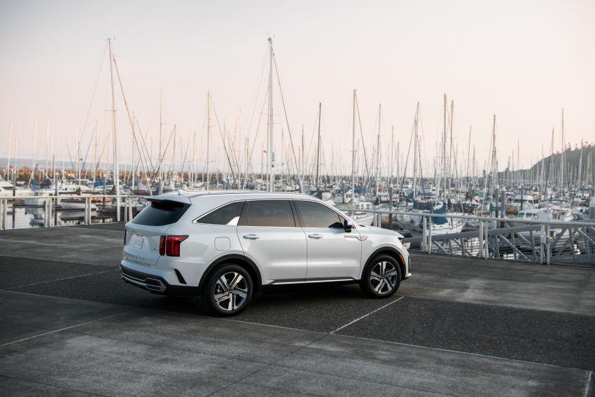 2022 Kia Sorento PHEV joins US range – 1.6T plug-in hybrid,  13.8 kWh battery, 51 km pure electric range Image #1332683