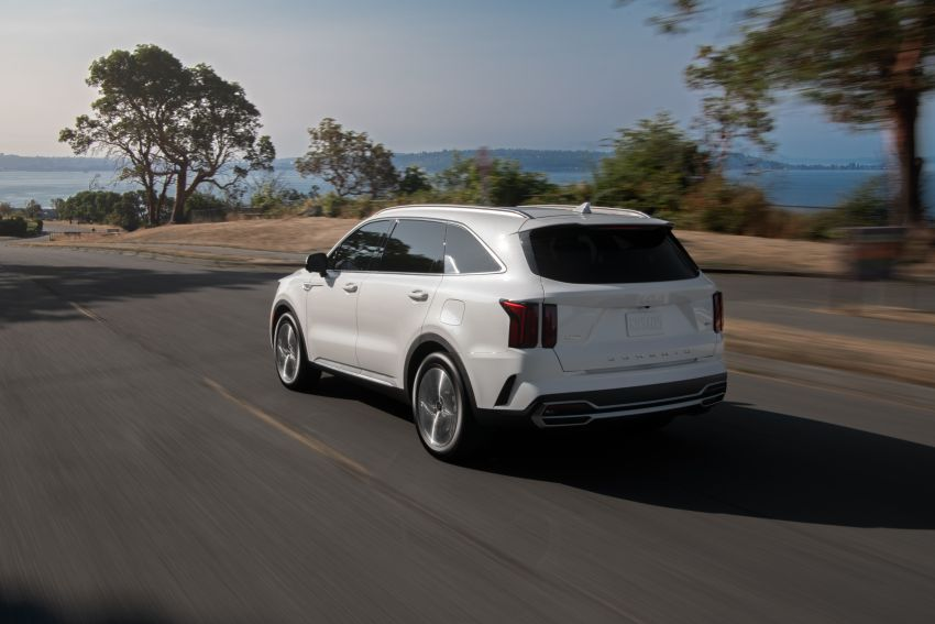 2022 Kia Sorento PHEV joins US range – 1.6T plug-in hybrid,  13.8 kWh battery, 51 km pure electric range Image #1332685