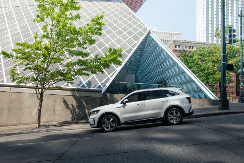 2022 Kia Sorento PHEV joins US range – 1.6T plug-in hybrid,  13.8 kWh battery, 51 km pure electric range Image #1332687
