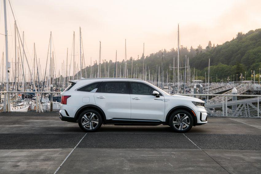 2022 Kia Sorento PHEV joins US range – 1.6T plug-in hybrid,  13.8 kWh battery, 51 km pure electric range Image #1332688