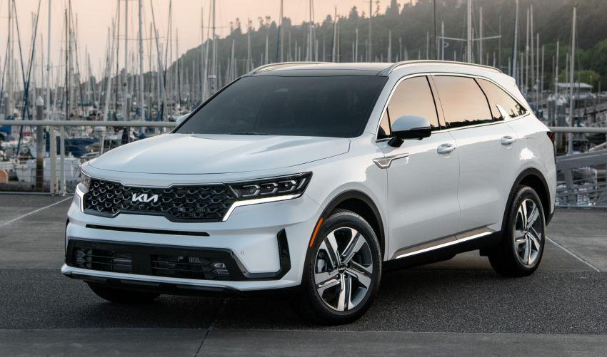 2022 Kia Sorento PHEV joins US range – 1.6T plug-in hybrid,  13.8 kWh battery, 51 km pure electric range Image #1332694