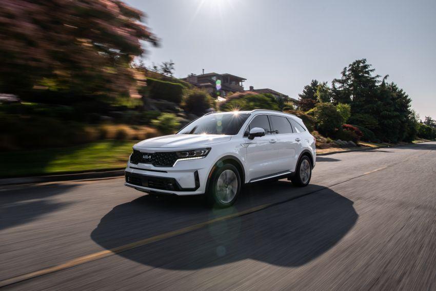 2022 Kia Sorento PHEV joins US range – 1.6T plug-in hybrid,  13.8 kWh battery, 51 km pure electric range Image #1332695