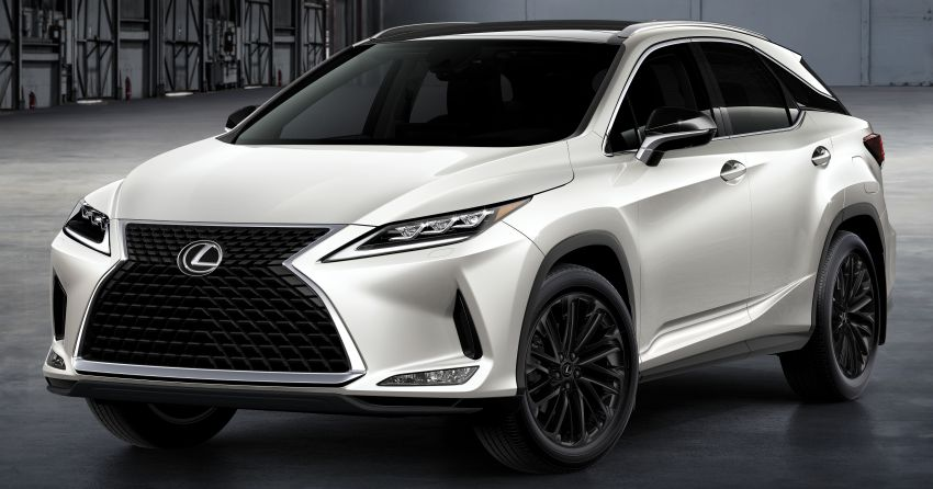 2022 Lexus RX Black Line debuts in the US, 2,500 units Image #1326928