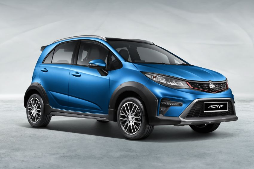 2022 Proton Iriz facelift launched in Malaysia – new SUV-style Active, LED lights; from RM40k to RM54k Image #1327022