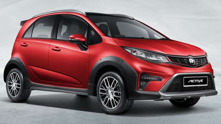 2022 Proton Iriz facelift launched in Malaysia – new SUV-style Active, LED lights; from RM40k to RM54k Image #1327222