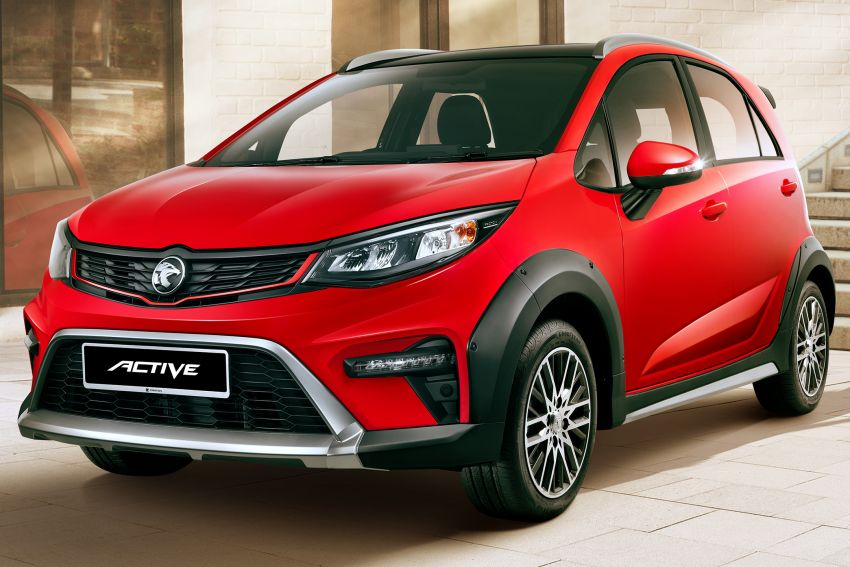 2022 Proton Iriz facelift launched in Malaysia – new SUV-style Active, LED lights; from RM40k to RM54k Image #1327045