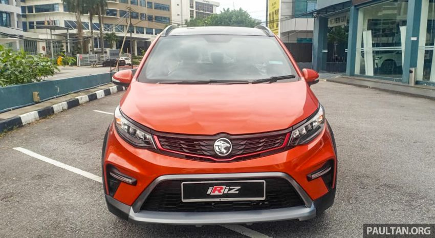 2022 Proton Iriz facelift launched in Malaysia – new SUV-style Active, LED lights; from RM40k to RM54k Image #1326833