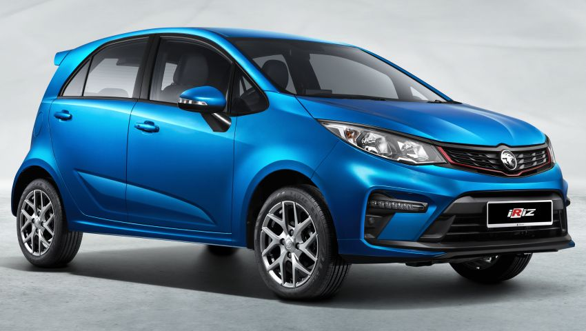 2022 Proton Iriz facelift launched in Malaysia – new SUV-style Active, LED lights; from RM40k to RM54k Image #1327079