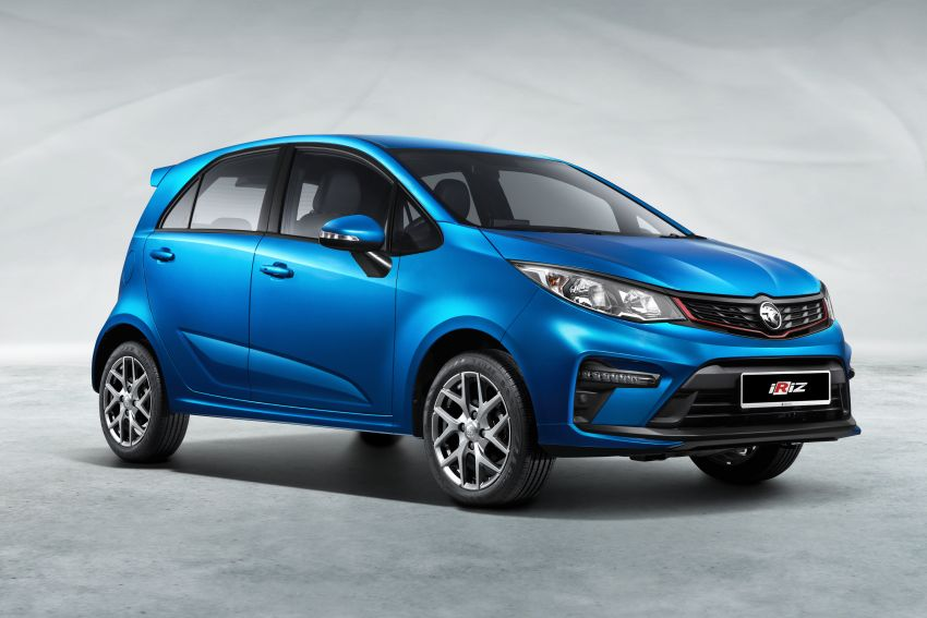2022 Proton Iriz facelift launched in Malaysia – new SUV-style Active, LED lights; from RM40k to RM54k Image #1327049