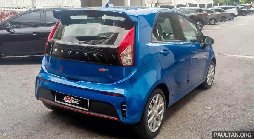 2022 Proton Iriz facelift launched in Malaysia – new SUV-style Active, LED lights; from RM40k to RM54k Image #1326815