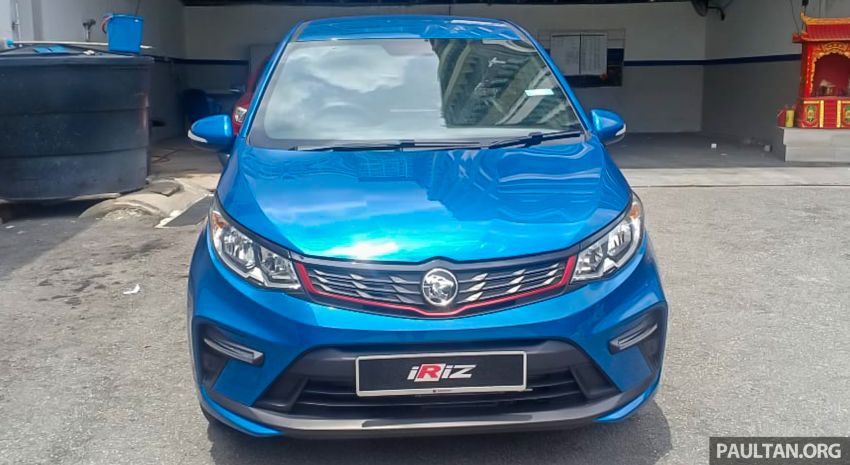 2022 Proton Iriz facelift launched in Malaysia – new SUV-style Active, LED lights; from RM40k to RM54k Image #1326817