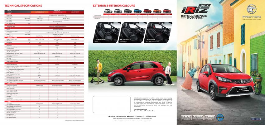 2022 Proton Iriz facelift launched in Malaysia – new SUV-style Active, LED lights; from RM40k to RM54k Image #1327217