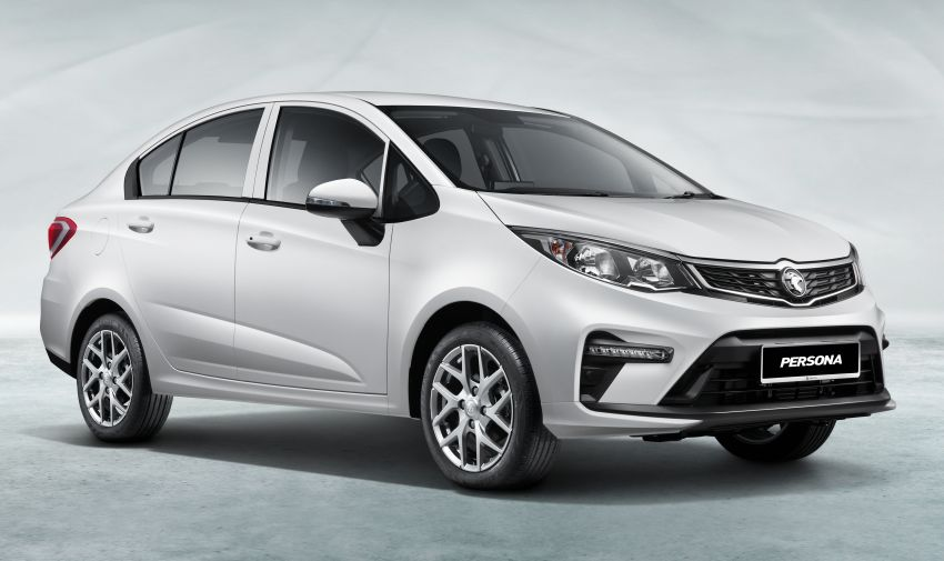 2022 Proton Persona facelift launched in Malaysia – 3 variants; 1.6L with CVT, brown leather; from RM46k Image #1327164