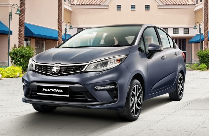 2022 Proton Persona facelift launched in Malaysia – 3 variants; 1.6L with CVT, brown leather; from RM46k Image #1327113