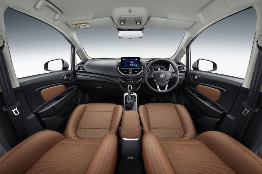 2022 Proton Persona facelift launched in Malaysia – 3 variants; 1.6L with CVT, brown leather; from RM46k Image #1327136