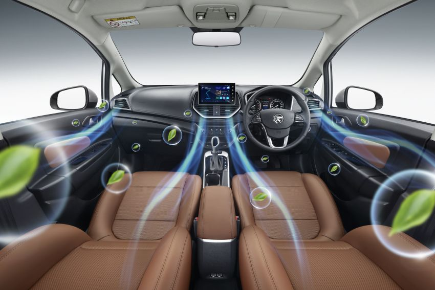 2022 Proton Persona facelift launched in Malaysia – 3 variants; 1.6L with CVT, brown leather; from RM46k Image #1327158
