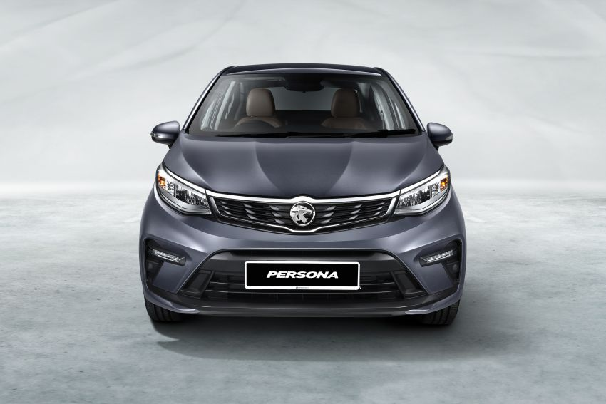 2022 Proton Persona facelift launched in Malaysia – 3 variants; 1.6L with CVT, brown leather; from RM46k Image #1327122
