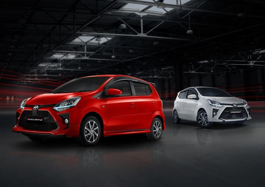 2022 Toyota Agya GR Sport in Indonesia, from RM45k Image #1328488
