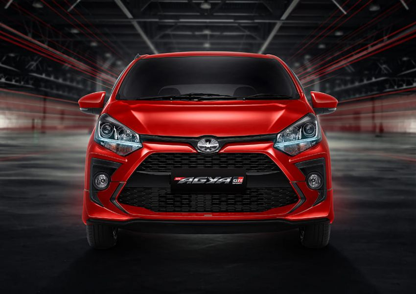 2022 Toyota Agya GR Sport in Indonesia, from RM45k Image #1328489