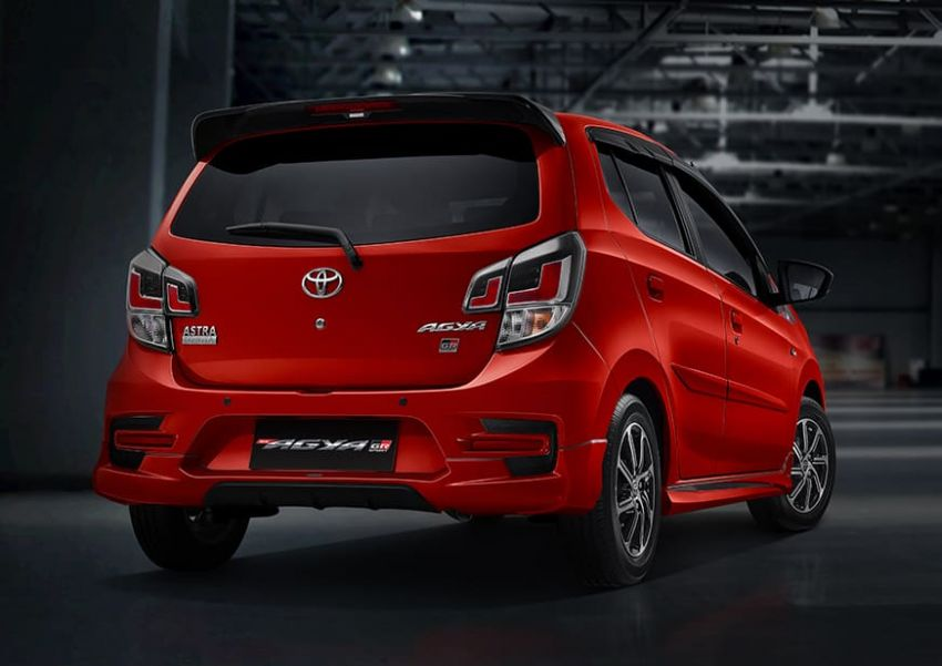 2022 Toyota Agya GR Sport in Indonesia, from RM45k Image #1328490
