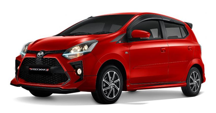 2022 Toyota Agya GR Sport in Indonesia, from RM45k Image #1328491