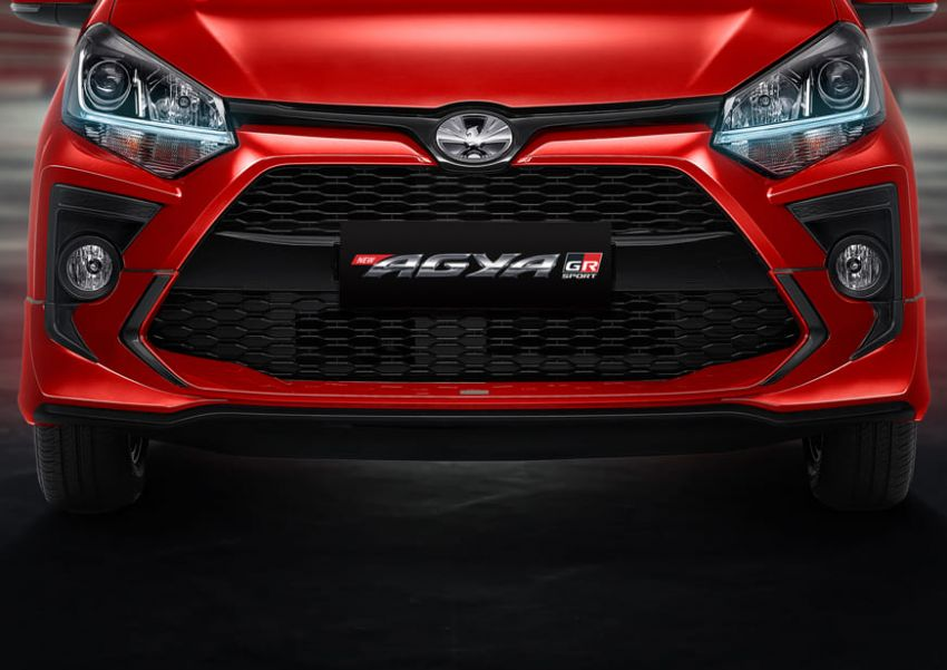 2022 Toyota Agya GR Sport in Indonesia, from RM45k Image #1328494