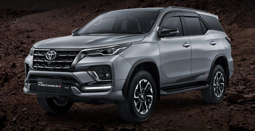 2022 Toyota Fortuner GR Sport launched in Indonesia; sporty kit for 2.7L petrol and 2.4L diesel – from RM160k Image #1328656
